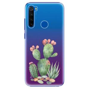 Plastové pouzdro iSaprio - Cacti 01 na mobil Xiaomi Redmi Note 8T