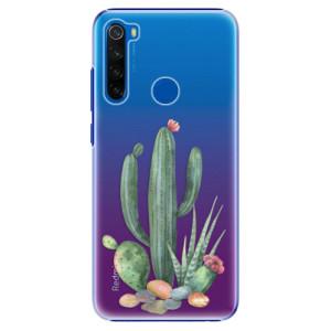 Plastové pouzdro iSaprio - Cacti 02 na mobil Xiaomi Redmi Note 8T