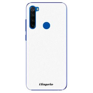 Plastové pouzdro iSaprio - 4Pure - bílé na mobil Xiaomi Redmi Note 8T
