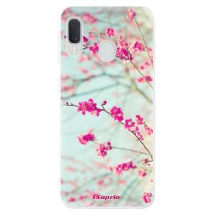 Odolné silikonové pouzdro iSaprio - Blossom 01 na mobil Samsung Galaxy A20e