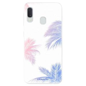 Odolné silikonové pouzdro iSaprio - Digital Palms 10 na mobil Samsung Galaxy A20e