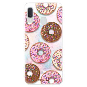 Odolné silikonové pouzdro iSaprio - Donuts 11 na mobil Samsung Galaxy A20e