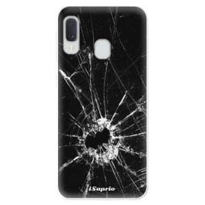 Odolné silikonové pouzdro iSaprio - Broken Glass 10 na mobil Samsung Galaxy A20e