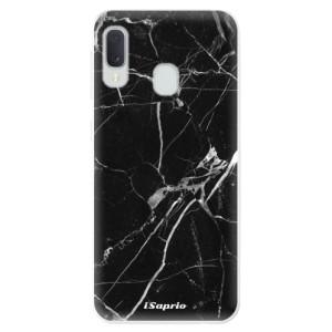 Odolné silikonové pouzdro iSaprio - Black Marble 18 na mobil Samsung Galaxy A20e