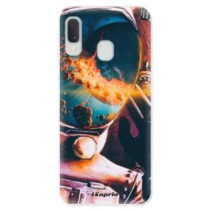 Odolné silikonové pouzdro iSaprio - Astronaut 01 na mobil Samsung Galaxy A20e