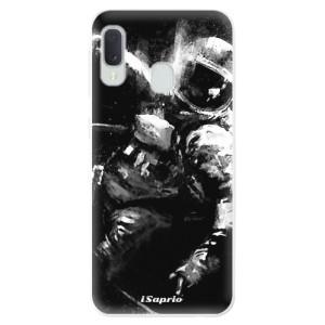 Odolné silikonové pouzdro iSaprio - Astronaut 02 na mobil Samsung Galaxy A20e