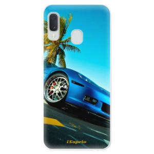 Odolné silikonové pouzdro iSaprio - Car 10 na mobil Samsung Galaxy A20e