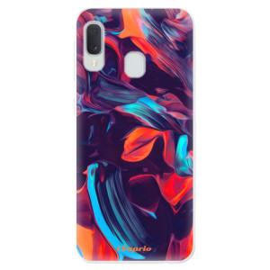 Odolné silikonové pouzdro iSaprio - Color Marble 19 na mobil Samsung Galaxy A20e