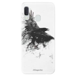 Odolné silikonové pouzdro iSaprio - Dark Bird 01 na mobil Samsung Galaxy A20e