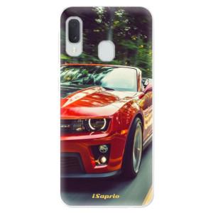 Odolné silikonové pouzdro iSaprio - Chevrolet 02 na mobil Samsung Galaxy A20e