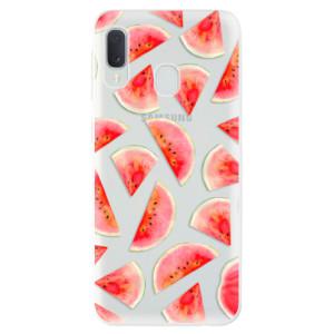 Odolné silikonové pouzdro iSaprio - Melon Pattern 02 na mobil Samsung Galaxy A20e - výprodej