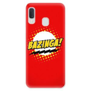 Odolné silikonové pouzdro iSaprio - Bazinga 01 na mobil Samsung Galaxy A20e
