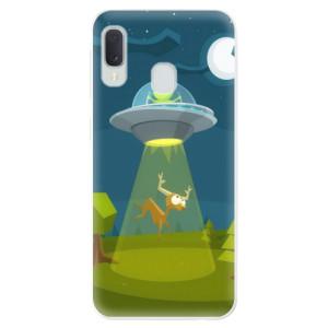 Odolné silikonové pouzdro iSaprio - Alien 01 na mobil Samsung Galaxy A20e