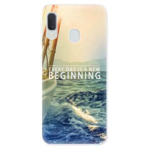 Odolné silikonové pouzdro iSaprio - Beginning na mobil Samsung Galaxy A20e