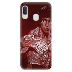 Odolné silikonové pouzdro iSaprio - Bruce Lee na mobil Samsung Galaxy A20e