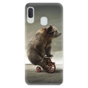 Odolné silikonové pouzdro iSaprio - Bear 01 na mobil Samsung Galaxy A20e