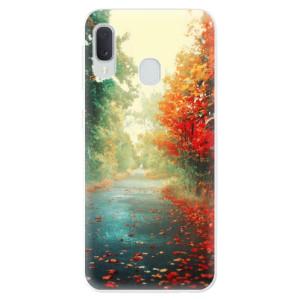 Odolné silikonové pouzdro iSaprio - Autumn 03 na mobil Samsung Galaxy A20e