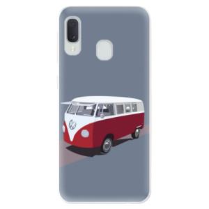Odolné silikonové pouzdro iSaprio - VW Bus na mobil Samsung Galaxy A20e