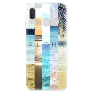 Odolné silikonové pouzdro iSaprio - Aloha 02 na mobil Samsung Galaxy A20e