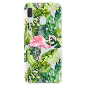 Odolné silikonové pouzdro iSaprio - Jungle 02 na mobil Samsung Galaxy A20e - výprodej