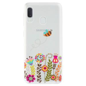 Odolné silikonové pouzdro iSaprio - Bee 01 na mobil Samsung Galaxy A20e
