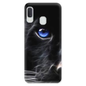 Odolné silikonové pouzdro iSaprio - Black Puma na mobil Samsung Galaxy A20e