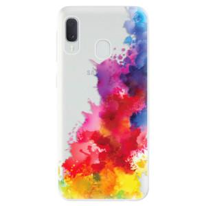Odolné silikonové pouzdro iSaprio - Color Splash 01 na mobil Samsung Galaxy A20e