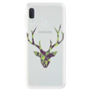 Odolné silikonové pouzdro iSaprio - Deer Green na mobil Samsung Galaxy A20e