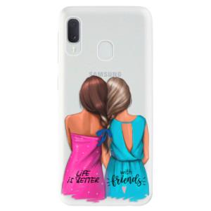 Odolné silikonové pouzdro iSaprio - Best Friends na mobil Samsung Galaxy A20e