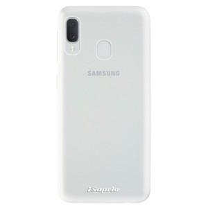 Odolné silikonové pouzdro iSaprio - 4Pure - čiré bez potisku na mobil Samsung Galaxy A20e