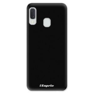 Odolné silikonové pouzdro iSaprio - 4Pure - černé na mobil Samsung Galaxy A20e