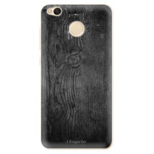 Odolné silikonové pouzdro iSaprio - Black Wood 13 na mobil Xiaomi Redmi 4X