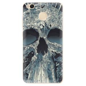Odolné silikonové pouzdro iSaprio - Abstract Skull na mobil Xiaomi Redmi 4X