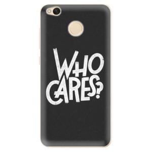 Odolné silikonové pouzdro iSaprio - Who Cares na mobil Xiaomi Redmi 4X