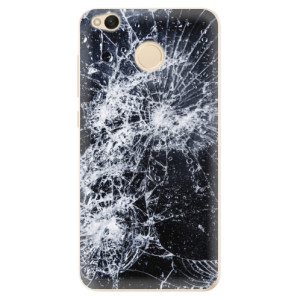 Odolné silikonové pouzdro iSaprio - Cracked na mobil Xiaomi Redmi 4X