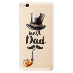Odolné silikonové pouzdro iSaprio - Best Dad na mobil Xiaomi Redmi 4X