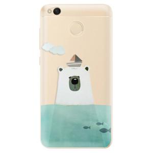 Odolné silikonové pouzdro iSaprio - Bear With Boat na mobil Xiaomi Redmi 4X