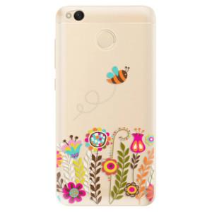 Odolné silikonové pouzdro iSaprio - Bee 01 na mobil Xiaomi Redmi 4X
