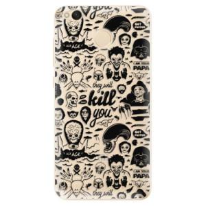 Odolné silikonové pouzdro iSaprio - Comics 01 - black na mobil Xiaomi Redmi 4X