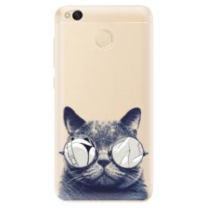 Odolné silikonové pouzdro iSaprio - Crazy Cat 01 na mobil Xiaomi Redmi 4X