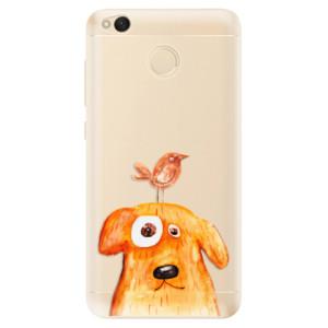 Odolné silikonové pouzdro iSaprio - Dog And Bird na mobil Xiaomi Redmi 4X