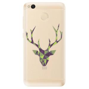 Odolné silikonové pouzdro iSaprio - Deer Green na mobil Xiaomi Redmi 4X
