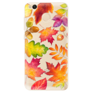 Odolné silikonové pouzdro iSaprio - Autumn Leaves 01 na mobil Xiaomi Redmi 4X