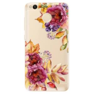 Odolné silikonové pouzdro iSaprio - Fall Flowers na mobil Xiaomi Redmi 4X