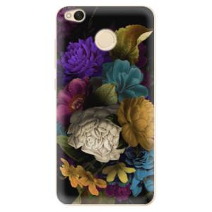 Odolné silikonové pouzdro iSaprio - Dark Flowers na mobil Xiaomi Redmi 4X