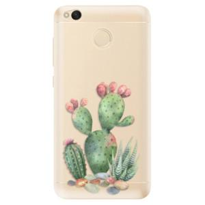 Odolné silikonové pouzdro iSaprio - Cacti 01 na mobil Xiaomi Redmi 4X
