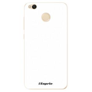 Odolné silikonové pouzdro iSaprio - 4Pure - bílé na mobil Xiaomi Redmi 4X