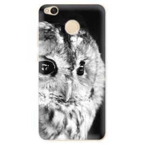 Odolné silikonové pouzdro iSaprio - BW Owl na mobil Xiaomi Redmi 4X