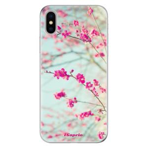 Odolné silikonové pouzdro iSaprio - Blossom 01 na mobil Apple iPhone X