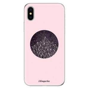 Odolné silikonové pouzdro iSaprio - Digital Mountains 10 na mobil Apple iPhone X
